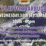 "Help Us ""Play for Barbuda"""