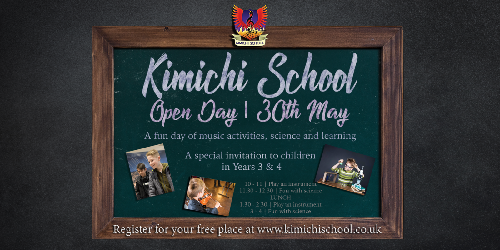 WELCOME TO KIMICHI SCHOOL