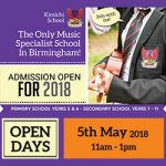Open Day: 5th May 2018