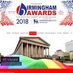 Finalists For Contribution To Education Birmingham 2nd Year Running!